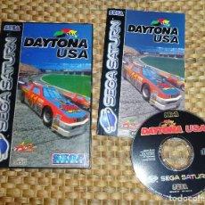 Videojuegos y Consolas: JUEGO SEGA SATURN - DAYTONA USA - PAL ESPAÑA - COMPLETO. Lote 168857420