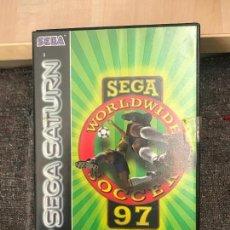 Videojuegos y Consolas: SEGA WORLDWIDE SOCCER 97 SEGA SATURN - COMPLETO. Lote 171201680