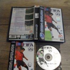Videojuegos y Consolas: SEGA SATURN FIFA 98 PAL ESP COMPLETO. Lote 172307004