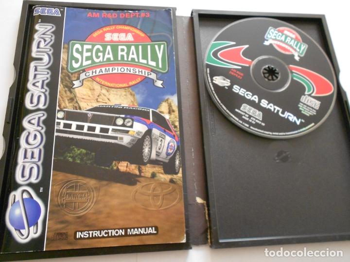 Videojuegos y Consolas: ANTIGUO JUEGO SEGA SATURN - SEGA RALLY - Foto 2 - 172912429