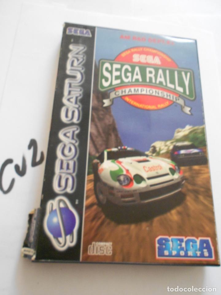 ANTIGUO JUEGO SEGA SATURN - SEGA RALLY (Juguetes - Videojuegos y Consolas - Sega - Saturn)