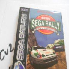 Videojuegos y Consolas: ANTIGUO JUEGO SEGA SATURN - SEGA RALLY. Lote 172912429