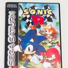 Videojogos e Consolas: SONIC R [SONIC TEAM, TRAVELLER'S TALES] [SEGA] [1997] [SEGA SATURN] [EURO / PAL]. Lote 175128053