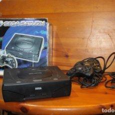 Videojuegos y Consolas: SEGA SATURN 2 MANDOS Y CABLE TELE ,FUNCIONA . Lote 178967393