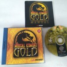 Videojuegos y Consolas: MORTAL KOMBAT GOLD! PARA SEGA SATURN! ENTRA Y MIRA MIS OTROS JUEGOS!!. Lote 182202051