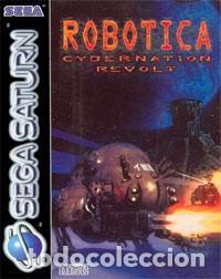 LOTE JUEGO DE SEGA SATURN - ROBOTICA CYBERNATION REVOLT (Juguetes - Videojuegos y Consolas - Sega - Saturn)