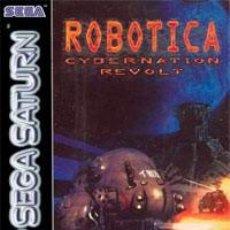 Videojuegos y Consolas: LOTE JUEGO DE SEGA SATURN - ROBOTICA CYBERNATION REVOLT. Lote 185024996