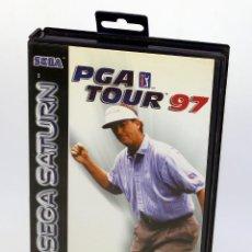 Videojuegos y Consolas: SEGA SATURN - PGA TOUR 98 - COMPLETO - VERSIÓN ESPAÑOLA PAL. Lote 186245965