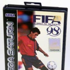 Videojuegos y Consolas: SEGA SATURN - FIFA 98 - COMPLETO - VERSIÓN ESPAÑOLA PAL - 1997. Lote 186247917