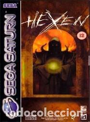 LOTE JUEGO DE SEGA SATURN - HEXEN (Juguetes - Videojuegos y Consolas - Sega - Saturn)