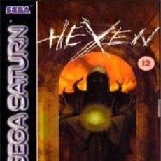 Videojuegos y Consolas: LOTE JUEGO DE SEGA SATURN - HEXEN. Lote 187180146