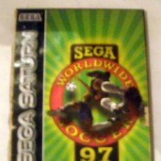 Videojuegos y Consolas: JUEGO SEGA SATURN WORLDWIDE SOCCER 97 PRECIO DE SALIDA 1 €. Lote 191294392