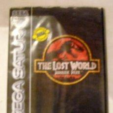 Videojuegos y Consolas: JUEGO SEGA SATURN THE LOST WORLD JURASSIC PARK PRECIO DE SALIDA 1 € . Lote 191317086