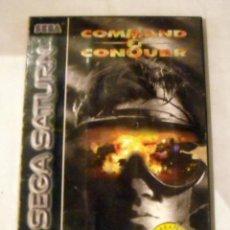 Videojuegos y Consolas: JUEGO SEGA SATURN COMMAND & CONQUER 2 CD`S PRECIO DE SALIDA 1 €. Lote 191322285