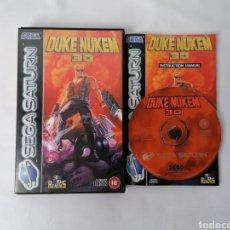Videojuegos y Consolas: DUKE NUKEM 3D SEGA SATURN. Lote 192786328