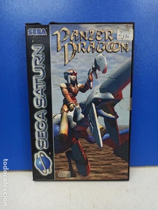 JEUGO SEGA SATURN PANZER DRAGOON EN CAJA ORIGINAL (Juguetes - Videojuegos y Consolas - Sega - Saturn)