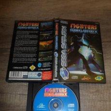 Videojuegos y Consolas: SEGA SATURN FIGHTERS MEGAMIX (VIRTUA FIGHTER) PAL ESP SIN MANUAL. Lote 194127651