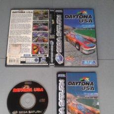 Videojuegos y Consolas: JUEGO SEGA SATURN DAYTONA USA COMPLETO CAJA Y MANUAL BOXED CIB PAL R10393. Lote 197907707