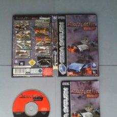 Videojuegos y Consolas: JUEGO SEGA SATURN DESTRUCTION DERBY COMPLETO CAJA Y MANUAL BOXED CIB PAL R10397. Lote 197910661