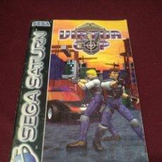 Videojuegos y Consolas: MANUAL SEGA SATURN VIRTUAL COP. Lote 198711955
