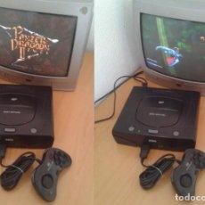 Videojuegos y Consolas: CONSOLA SEGA SATURN MK-80200A COMPLETA MAGNIFICO ESTADO PLENO FUNCIONAMIENTO PAL R10449. Lote 198887278