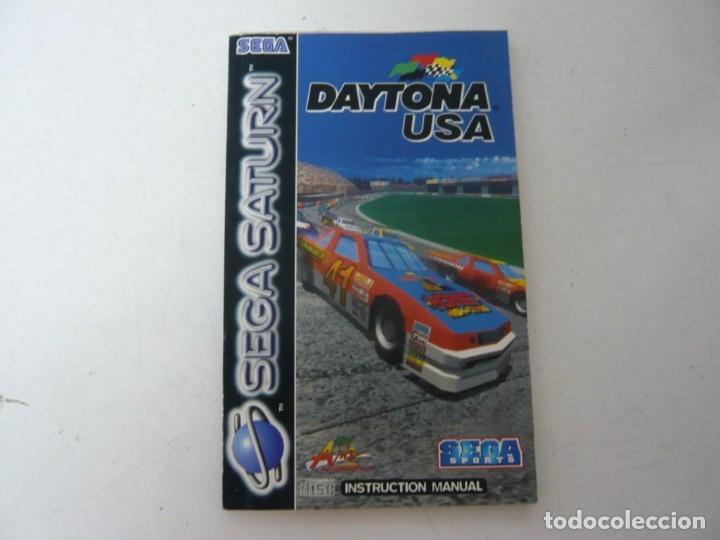 DAYTONA USA - MANUAL / SEGA SATURN / VER FOTOS / RETRO VINTAGE (Juguetes - Videojuegos y Consolas - Sega - Saturn)