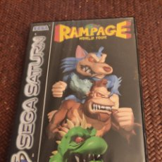 Videojuegos y Consolas: RAMPAGE WORLD TOUR CON MANUAL. Lote 204202008