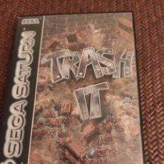 Videojuegos y Consolas: TRASH IT SEGA SATURN. Lote 204207006