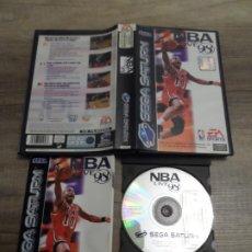Videojuegos y Consolas: SEGA SATURN NBA LIVE 98 PAL ESP COMPLETO. Lote 206852790
