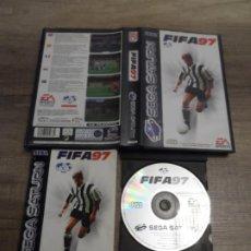 Videojuegos y Consolas: SEGA SATURN FIFA 97 PAL ESP COMPLETO. Lote 206958623