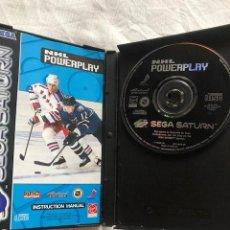Videojuegos y Consolas: NHL POWERPLAY SEGA SATURN COMPLETO PAL ESPANA. Lote 207264251