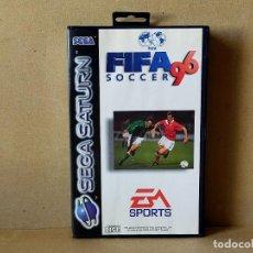 Videojuegos y Consolas: JUEGO SEGA SATURN: FIFA 96 SOCCER (EA SPORTS) --- A ESTRENAR SIN USO. Lote 210948202