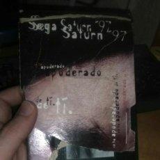 Videojuegos y Consolas: VHS: SEGA SATURN 97. Lote 213853053