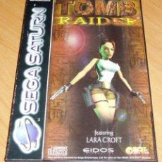 Videojuegos y Consolas: TOMB RAIDER SEGA SATURN. Lote 216374452