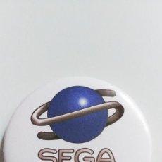 Videojuegos y Consolas: CHAPA DE SEGA SATURN - IMAN DE 58MM. Lote 216849323