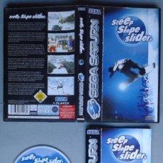 Videojuegos y Consolas: SEGA SATURN STEEP SLOPE SLIDER COMPLETO CAJA Y MANUAL BOXED CIB PAL!! R11631. Lote 220812938