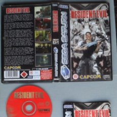 Videojuegos y Consolas: SEGA SATURN RESIDENT EVIL COMPLETO CAJA MANUAL Y MAS BOXED CIB PAL!! R11633. Lote 220813032