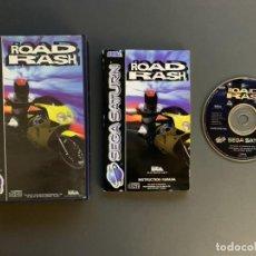 Videogiochi e Consoli: ROAD RASH SEGA SATURN COMPLETO PAL ESPAÑA - UNICO EN TODOCOLECCION. Lote 221436138