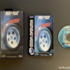 Videojuegos y Consolas: NEED FOR SPEED SEGA SATURN COMPLETO PAL ESPAÑA. Lote 221436290