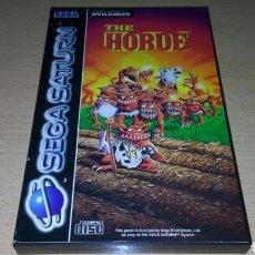 Videogiochi e Consoli: THE HORDE COMPLETO SEGA SATURN. Lote 221772691