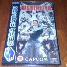 Videojuegos y Consolas: RESIDENT EVIL COMPLETO SEGA SATURN CAPCOM PAL. Lote 221891938