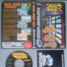 Videojuegos y Consolas: SEGA SATURN SEGA AGES VOLUME 1 COMPLETO CAJA MANUAL BOXED CIB PAL!! R11712. Lote 222527686