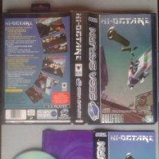 Videojuegos y Consolas: SEGA SATURN HI-OCTANE COMPLETO CAJA MANUAL BOXED CIB PAL R11714. Lote 222527812