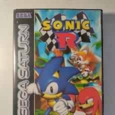 Videojuegos y Consolas: SONIC R SEGA SATURN. INCLUYE MANUAL. AÑO 1997. Lote 222663452