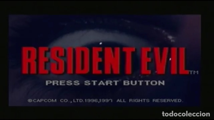 Videojuegos y Consolas: Resident Evil [Capcom] [1996] [Sega Saturn] [Euro / PAL] - Foto 6 - 43782566