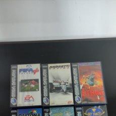 Videojuegos y Consolas: PACK JUEGOS SEGA SATURN. Lote 236025370