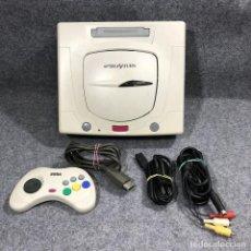 Videojuegos y Consolas: CONSOLA SEGA SATURN HST 3220+MANDO+AV+AC. Lote 236343060