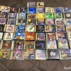 Videojuegos y Consolas: ESPECTACULAR COLECCIÓN DE 58 JUEGOS ORIGINALES SEGA SATURN JAP. Lote 241388780