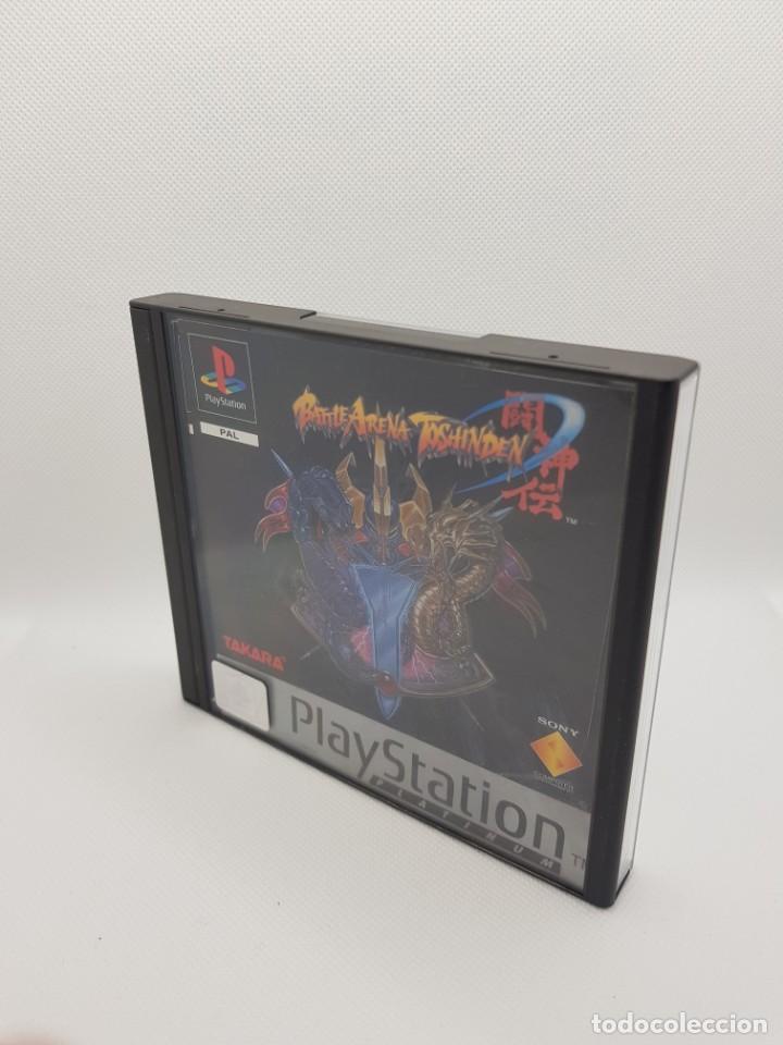 BATTLE ARENA TOSHIDEN PS1 COMPLETO PAL ESPAÑA (Juguetes - Videojuegos y Consolas - Sega - Saturn)