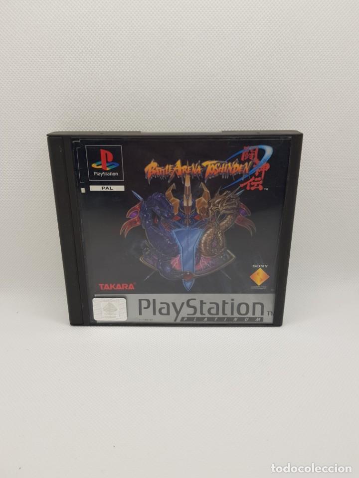 Videojuegos y Consolas: battle arena toshiden ps1 completo pal españa - Foto 2 - 242224575